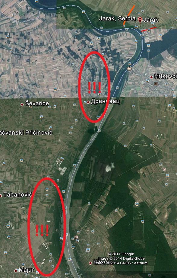 Voda ide ka Drenovcu i Majuru.